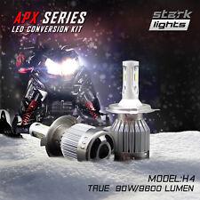 Stark APX Snowmobile LED 90W 9600LM 6000K Headlight Kit Hi Lo Dual - H4 9003