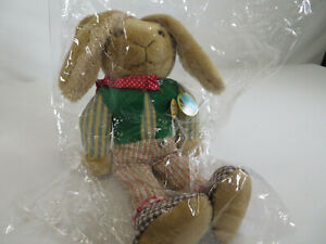 Clarlie Bears - Frankie's Bunny - New Old Stock - Now Retired 2008 - New Sealed