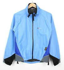 Berghaus Bike Goretex Paclite Blue Zip Up Waterproof Lightweight Jacket Coat - S