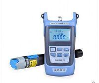 Fiber Meter Optical Power + Locator Fiber Optic Cable Tester 10mW Visual Fault