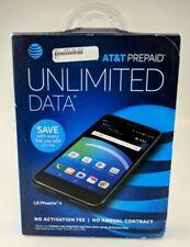 LG Phoenix 4 - 16GB - Titan Black (AT&T) Smartphone