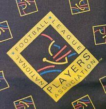 "1990s Vtg National Football League Players Bandana NFL Rare Logo 21"" x 21"""