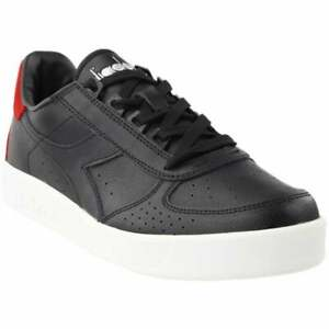 Diadora B.Elite P.L. Lace Up  Mens  Sneakers Shoes Casual   - Black