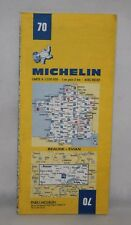 France - Michelin 1:200,000 Map - Beaune, Evian - Sheet 70 - 1981