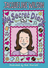 My Secret Diary By Jacqueline Wilson, Hardback with free secret scrapbook