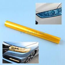 Car Yellow Color Tinting Film Fog Tail Lights Headlights Tint Van Vinyl Wrap