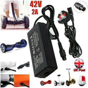Fast Charger Power Adapter For Swegway/Segway/Hoverboard Balance Board UK Plug
