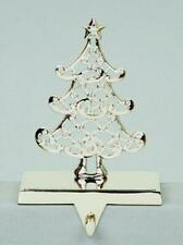 New Silver Crystal Tree Christmas Stocking Holder 18cm Premier Decorations