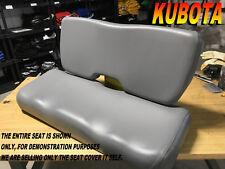 Kubota RTV900 New Seat cover 2011-14 RTV900XT RTV900XTS RTV 900 XT XTS XTR 981A