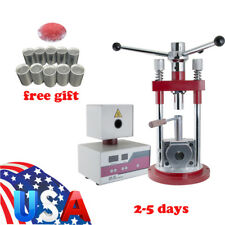 US Dental Lab Flexible Denture Machine Dentistry Injection System Press &Furnace