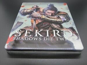 Sekiro Shadows Die Twice GEO Limited Edition Steelbook XBOX ONE PS4 NEAR MINT+