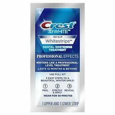 Crest 3d Professional Effects Whitestrips Value Pack 20 Strips - 10 Treatments