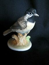 Figurine Porcelian Lefton Collectible Vintage Chickadee Hand Painted Decorative