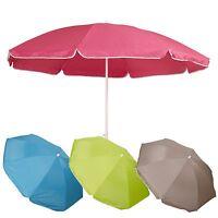 Garden Beach Deck Chair Parasol Umbrella Sunshade Spike Sun UV Protection Shade