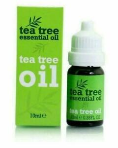 Tea Tree 100% Pure Essential Oil Anti Fungal Anti Bacterial Anti Virus - 10ml