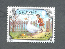 Fairy Tales Goose that laid the Golden Egg-mnh single Jersey 2005-Birds
