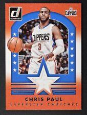 2015-16 Donruss Superstar Swatches #11 Chris Paul Jersey /149 - NM-MT