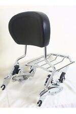 4 Point Docking Kit Air Wing Luggage Rack Sissy Bar Backrest Harley Davidson