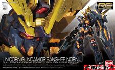RX-0 [N] Unicorn Gundam 02 Banshee Norn Real Grade 27 1/144 Model Bandai Japan