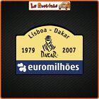 2 Adhesives IN Theme Dakar Lisboa Rally Auto Motorcycle Helmet Cross Racing