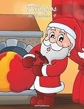 Navidad: Dibujos de Navidad 4 by Nick Snels (2014, Paperback, Large Type)