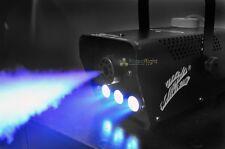BLUE Remote Wireless LED Smoke Machine Fog Mist Effect Christmas DJ Party Disco