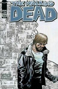 Walking Dead #106B Adlard B&W Variant NM.