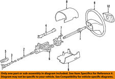 FORD OEM 99-14 E-350 Super Duty Steering Column-Intermediate Shaft 6C2Z3E751AA