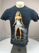 VTG Carrie Underwood The Blown Away Concert Tour Country Music Fan Blue TShirt S
