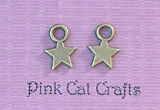 40 x LITTLE STAR Bronze Tone Charms Pendants Beads