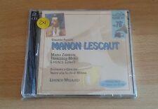 G.PUCCINI - MANON LESCAUT - LORENZO MOLAJOLI - CD SIGILLATO (SEALED)