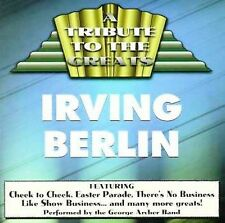 Tribute to Irving Berlin by George Archer (CD, Jan-1996, DHM Editio Classica)