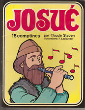 Soft Cover French Rhymes Book Josué 16 Comptines Claude Steben F. Ladouceur