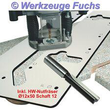 IGM Frässchablone Küchenarbeitsplatten + HW-Nutfräser S12, Arbeitsplatten