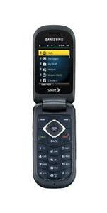 Samsung SPH M360 - Velvet blue (Sprint) Cellular Phone