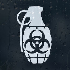 Zombie Outbreak Response Granade Car Window Laptop Phone Decal Vinyl Sticker