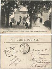 CPA Cours de Récréation Pensionnat Notre Dame BRIVES SUR CHARENTE → Saintes 972R
