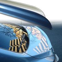 Fyralip Y22 Custom Painted Trunk Lip Spoiler For Benz C Class W203 Sedan 01-07
