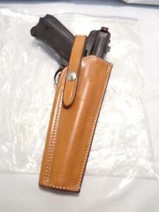 "522-59 SAFARILAND Gun Holster for RUGER Target Mark I II 22 Auto to 5.5"" Barrel"