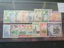 Rhodesia & Nyasaland 1959/62 complete set of 15, hinged mint