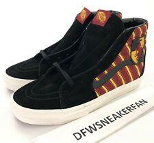 Vans X Harry Potter Gryffindor Sk8 Hi Men's 10 Shoes New In Box