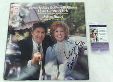 Beverly Sills Vintage Signed and Inscribed Album Cover w Disc JSA