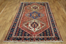 OLD WOOL HAND MADE  ORIENTAL FLORAL RUNNER AREA RUG CARPET 305 x 155CM