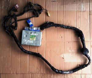 JDM NISSAN N15 GA15DE 1,5cc WIRING HARNESS 4-FLAT ENGINE ECU 23710 9M008 USED