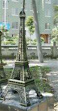 5cm-48cm Eiffel Tower Figurine Paris Statue Metal Bronze Tone Antiques Figurines