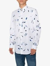 NEW + TAGS * PAUL SMITH * PINK BLUE DITSY FLORAL COTTON SHIRT SIZE M RRP £135