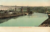 Postcard Central Viaduct Cleveland Ohio