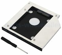 2nd Hard Drive HDD SSD Caddy for Dell Inspiron 15 3521 3537 5558 5559 5566 3567