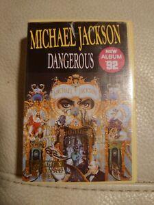 Michael Jackson Dangerous Cassette Tape