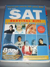 The New SAT Survival Kit: A complete Study Guide System, workbook with 8 DVDs